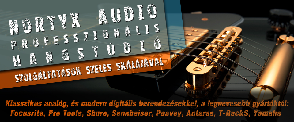 Nortyx Audio Hangstúdió és Szinkronstúdió